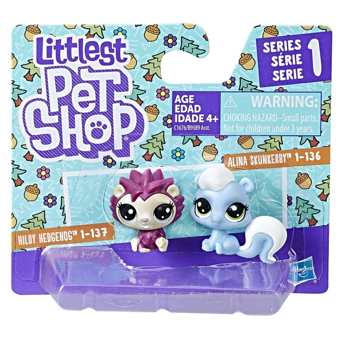 harga Littlest pet shop hildy hedgehog alina skunkerby Tokopedia.com