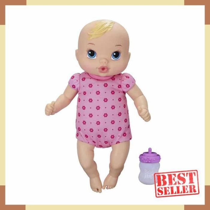 Jual Mainan Boneka Baby Alive Luv n Snuggle Baby Doll Blonde - A5841 ... e78b51f297