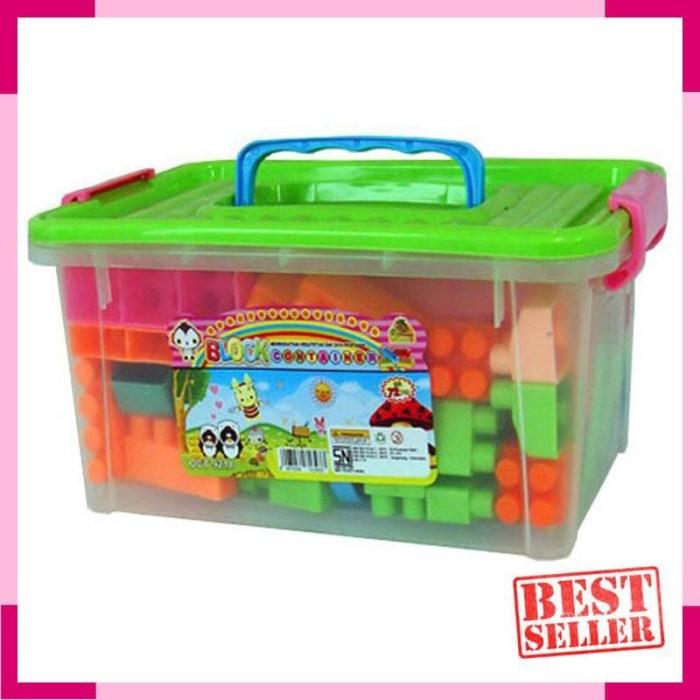 Ocean Toy Block Container Mainan Anak OCT9218 Multicolor