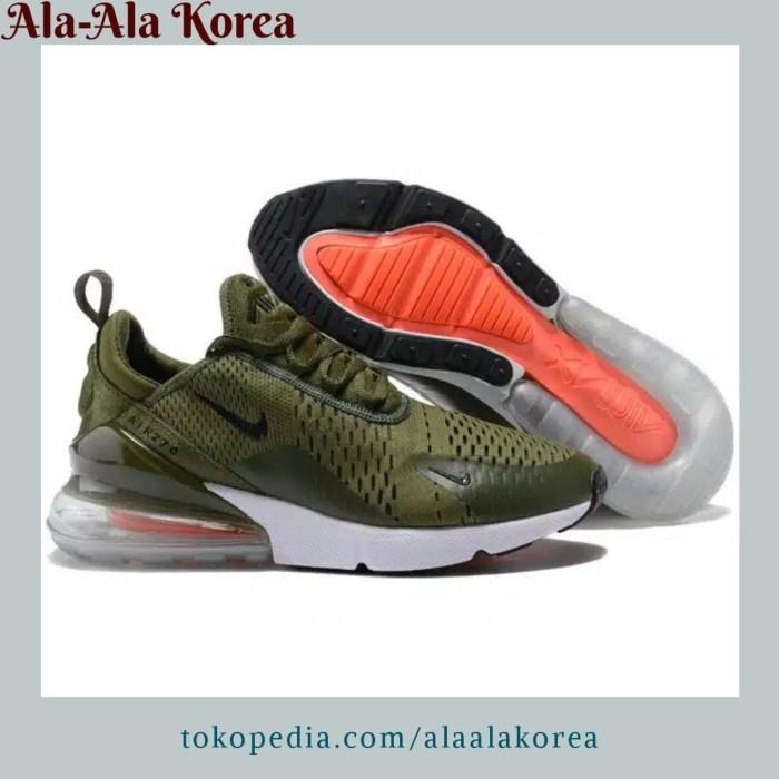 on sale cf1a3 5c6af Jual Sepatu Nike Air Max 270 Green Original Premium Sneakers Pria Cowok Oke  - Jakarta Barat - Ala Ala Korea   Tokopedia