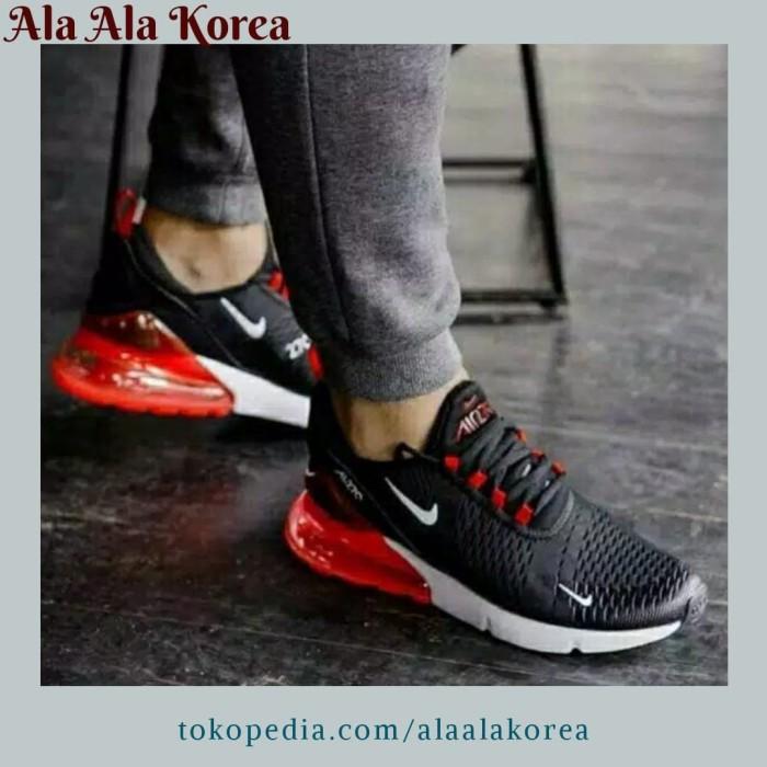 Rechazar oficina postal Aplicar  Jual Sepatu Nike Air Max 270 Black Red White Original Premium Sneakers Pria  - Jakarta Barat - Ala Ala Korea   Tokopedia