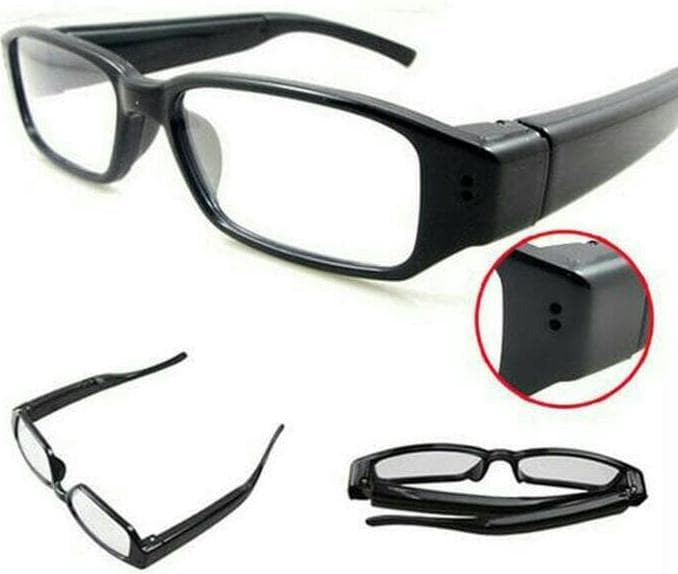 Jual Spy Camera Glasses 720P HD - Kamera Pengintai Model Kacamata ... 4c7d93e405
