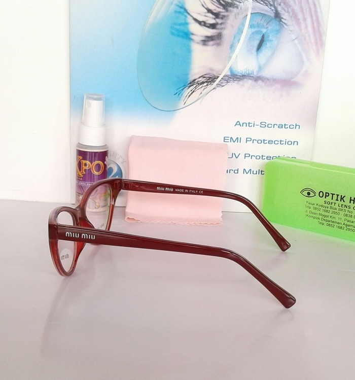 Diskon Frame Kacamata Cat Eye Marc Jacobs 527 Super Fashion Wanita ... 9b6bedfcbf