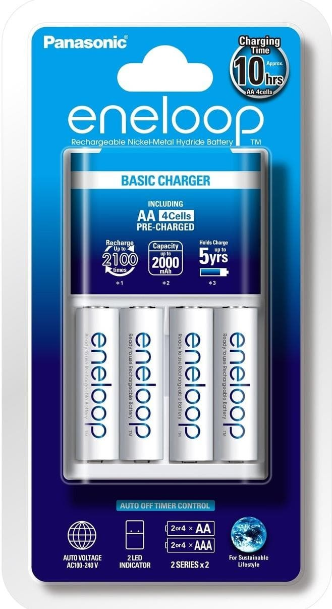 Resstokkk Charger Battery Sanyo Eneloop 100% New And Original !!! |