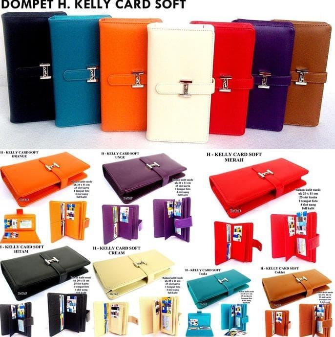 Hot Promo Shopping Card Organizer (Sco) Dompet Hermes Kelly Card Soft 8f303e94b5