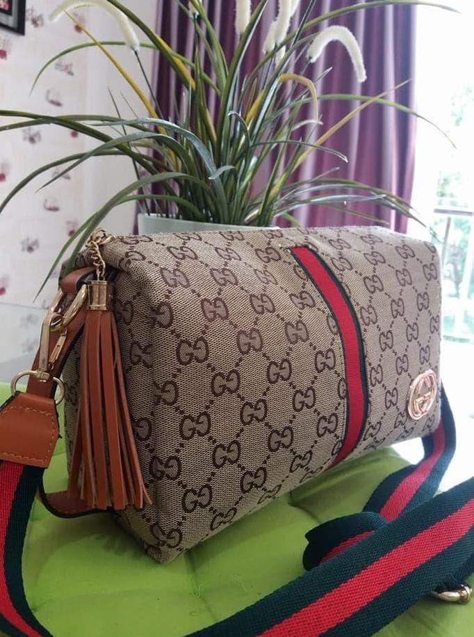 Jual Best Sellerrr Tas Selempang Gucci Sling Bag Tas Wanita Import ... 3482b71242
