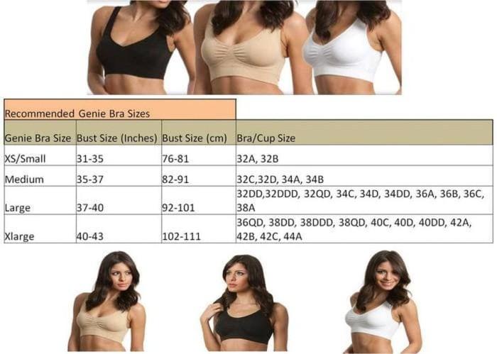 Dijual Jual Genie Bra ~ Sport Bra ~ Pakaian Dalam Wanita ~ ISI 3 PC ... 934ab224b7