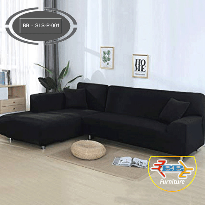 Jual Sofa Ruang Tamu Minimalis L Santai Polos Bb Sls P 001 Dki