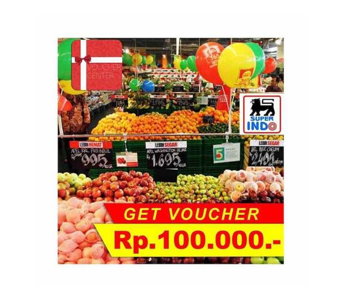 Voucher superindo Rp 100.000