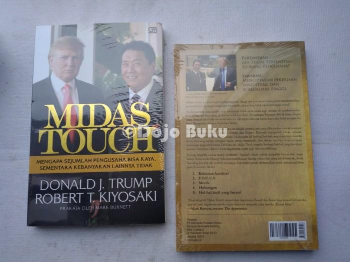 harga Midas touch - edisi revisi by donald j.trump & robert t.kiyosaki Tokopedia.com