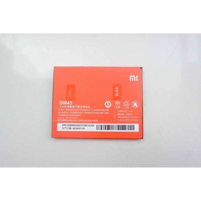 harga Baterai handphone batu battery xiaomi redmi note 2/ bm 45 Tokopedia.com