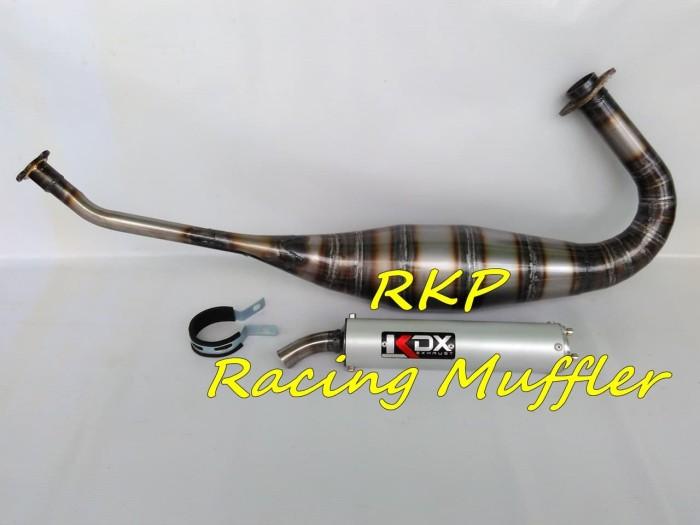 harga Knalpot racing kdx plat untuk motor kawasaki ninja 150 r / ss / rr Tokopedia.com