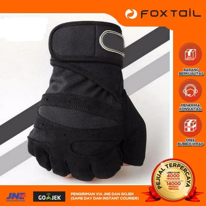 Foto Produk Glove Fitness Gym sarung tangan anti sobek heavyweight dari Foxtail Store