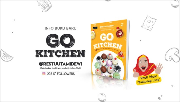harga Buku go kitchen @restuutami by kawan puskata Tokopedia.com