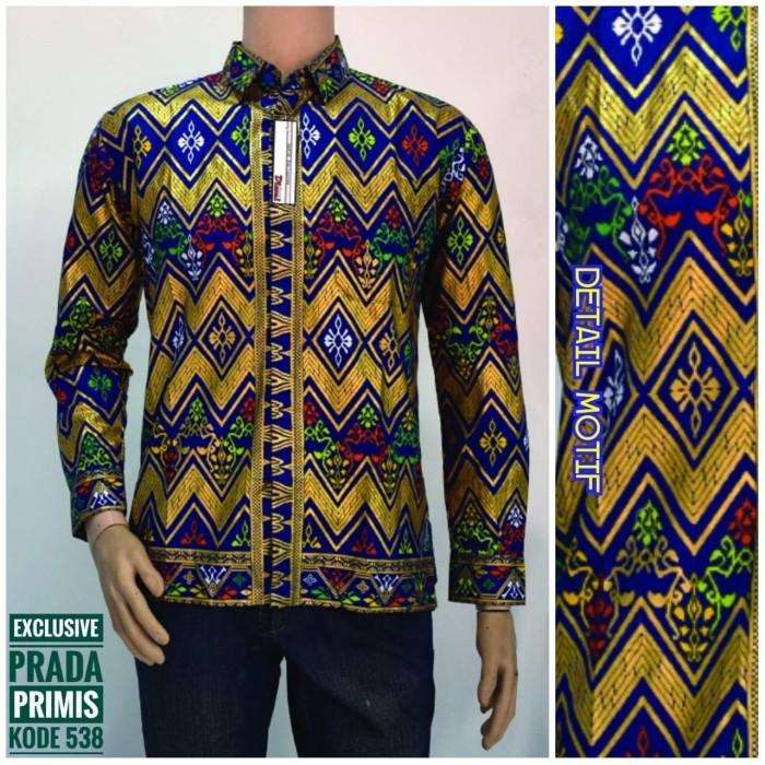 Jual Baju Kemeja Batik Pria Prada Bali Kota Surabaya Zhivriel Fashion Shop Tokopedia