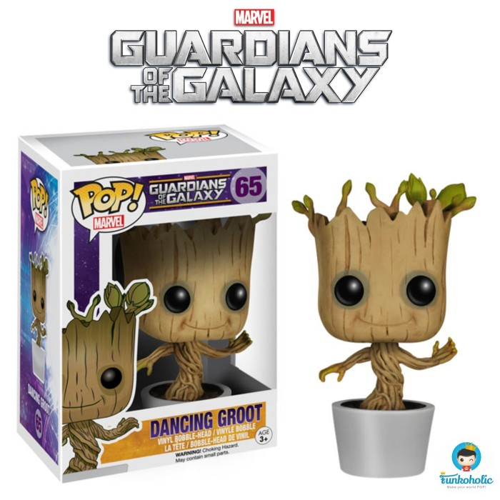 harga Funko POP! Marvel Guardians of the Galaxy - Dancing Groot #65 Tokopedia.com