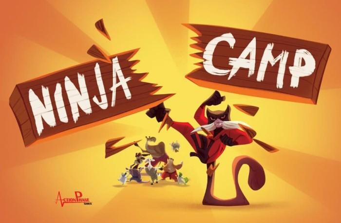 Ninja Camp Board Game - Blanja.com