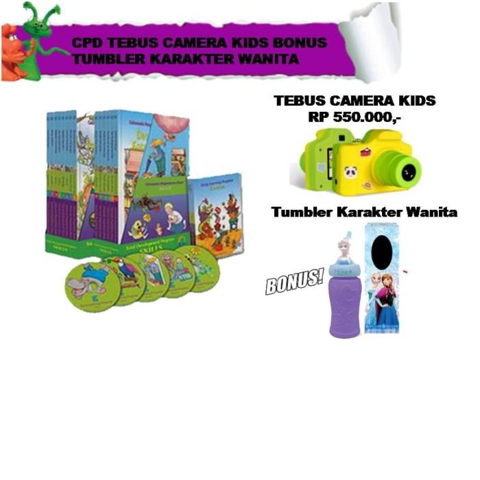 harga Cpd tebus camera kids bonus tumbler karakter wanita Tokopedia.com