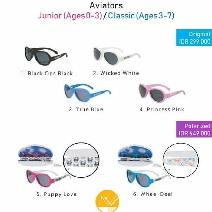 Babiators Kids UV Sunglasses 0-2th