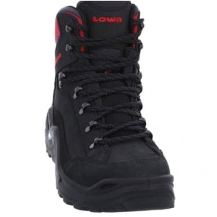harga Sepatu gunung original lowa renegade gtx mid black/red bukan mammut Tokopedia.com