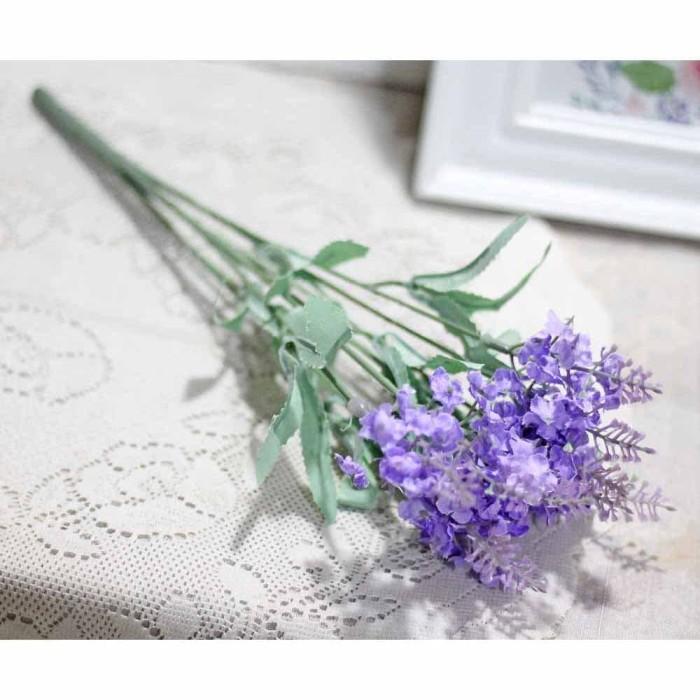 harga Bunga artificial / sintetis / plastik lavender shabby chic vintage f Tokopedia.com