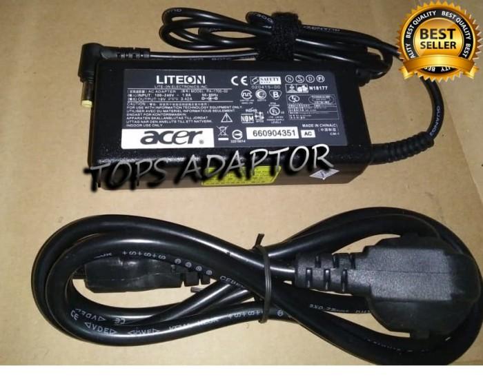 harga Adaptor/charger laptop acer (liteon) 19v - 3.42a original 100% Tokopedia.com
