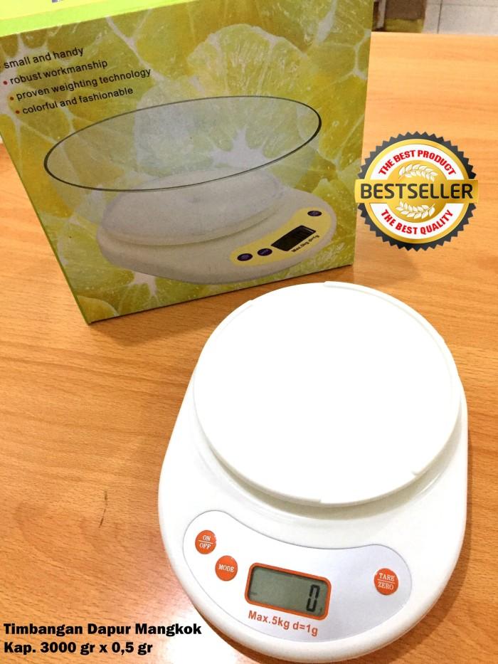 Timbangan Dapur Timbangan Kue Kitchen Scale Digital kap 3 kg x 0,5 gr