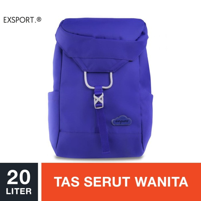 harga Exsport badge citypack - purple / tas serut wanita Tokopedia.com
