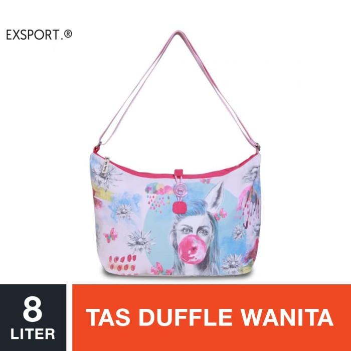 harga Exsport monica hapsari duffle bag - pink / tas duffle wanita Tokopedia.com