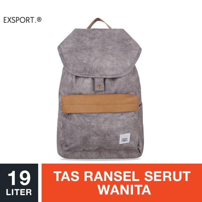 harga Exsport jemma 04 citypack - grey / tas ransel serut wanita Tokopedia.com