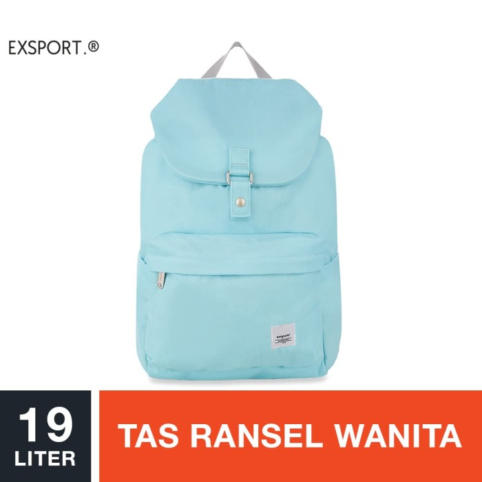 harga Exsport jemma kanavace backpack - blue / tas ransel wanita Tokopedia.com