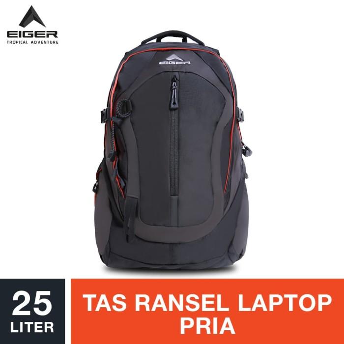 eiger magma 1 laptop backpack 25l - orange / tas laptop