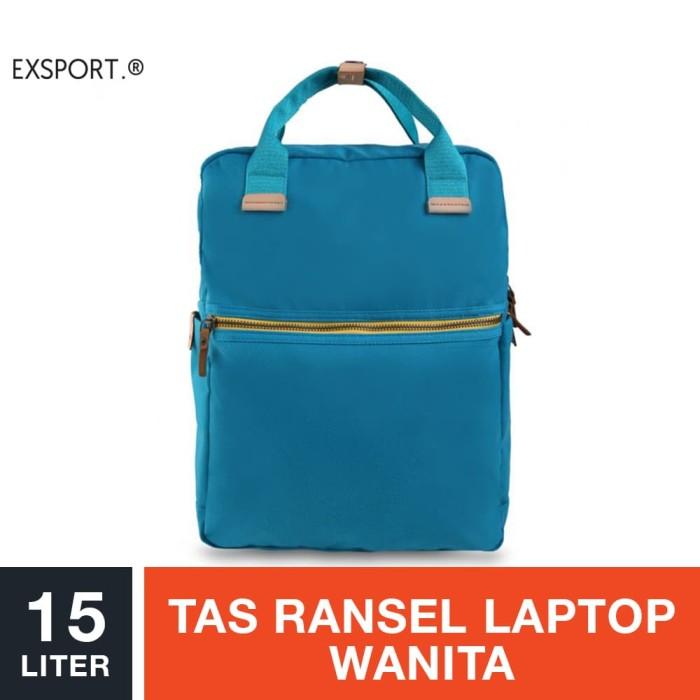harga Exsport lequira laptop backpack - tosca / tas ransel laptop wanita Tokopedia.com