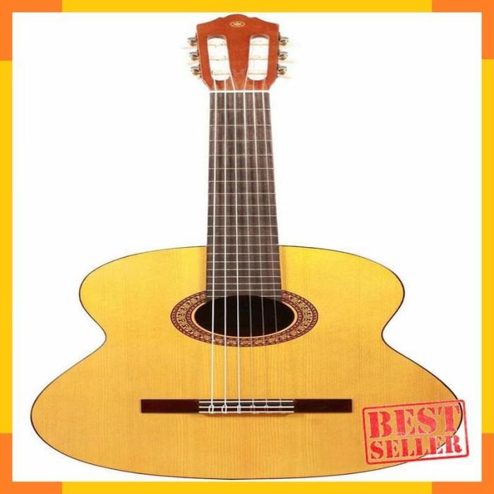 Alat Musik - Yamaha Gitar Klasik C-315 + Yamaha Softcase & 2 Pick
