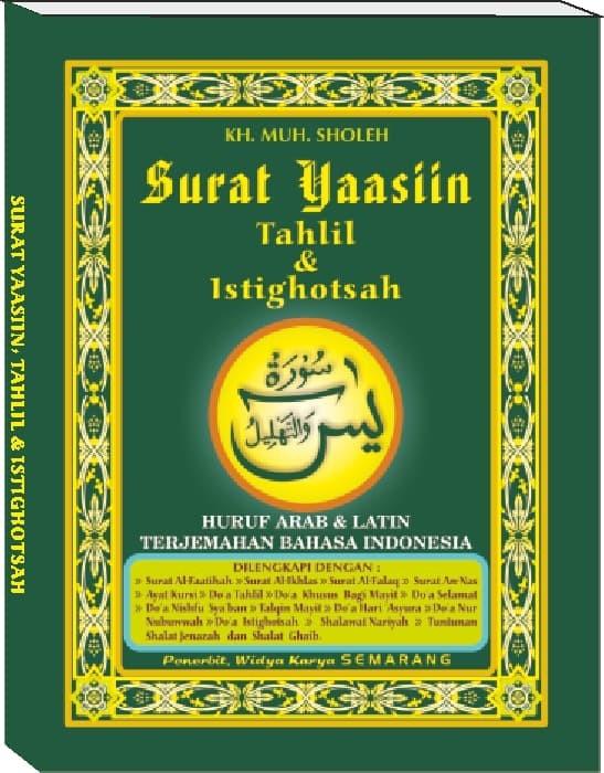 Jual Yasin Tahlil Istighotsah Penerbit Widya Karya Cover Hijau Kota Semarang Levelmartshop Tokopedia