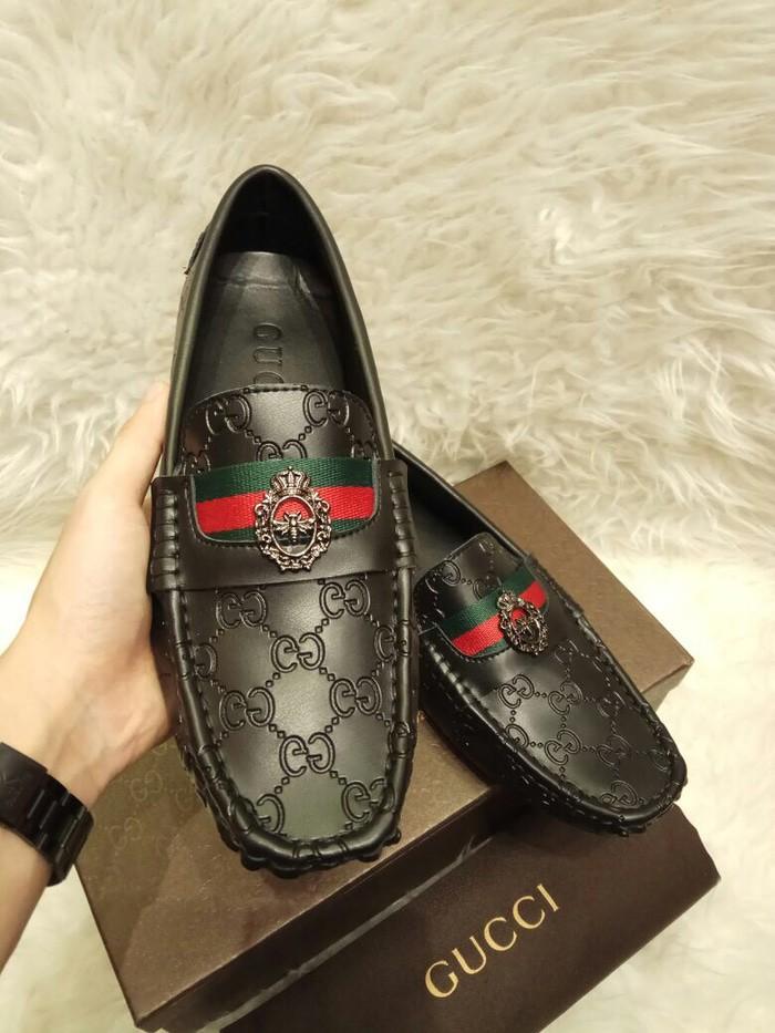 660dd1eb0fe TERBARU Jual Sepatu Loafers pria Fashion Branded Murah Asli - Gucci -
