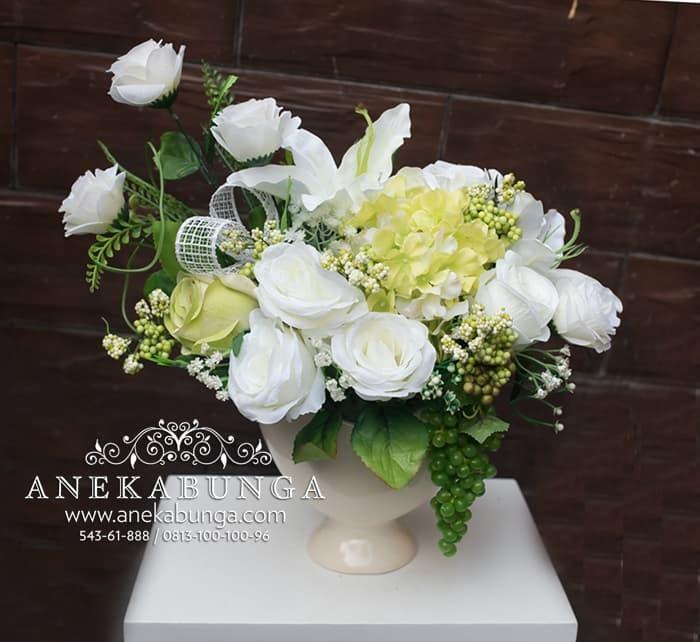 Jual Rangkaian Bunga Plastik Pot Artificial Flower Palsu Imitasi Vas ... f2e904388f