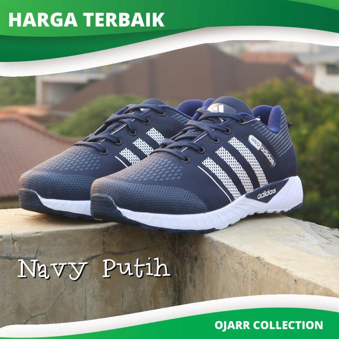 Sepatu Sport Casual Adidas Neo Zoom Running Olahraga Pria Laki Premium 2298cd26a1