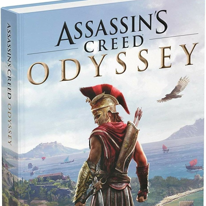 Jual Assassin Creed Odyssey Official Collector Edition Guide Book