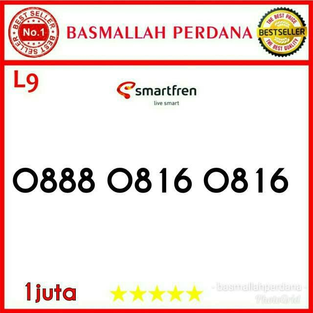 Jual Nomor Cantik Smartfren Double Operator Indosat 0888 0816 0816