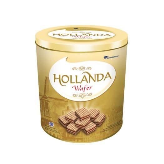 Hollanda Wafer Cream 1 kaleng @ 340 gr) (HOFER) By Garudafood
