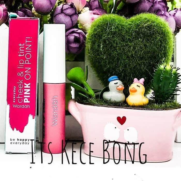 harga Wardah everyday cheek and lip tint - 03 pink on point Tokopedia.com