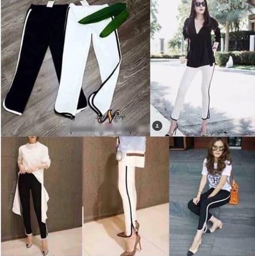 Slim List Pants Scuba Premium Celana Panjang Wanita Jp276 - Daftar ... 50fc5d5b5b