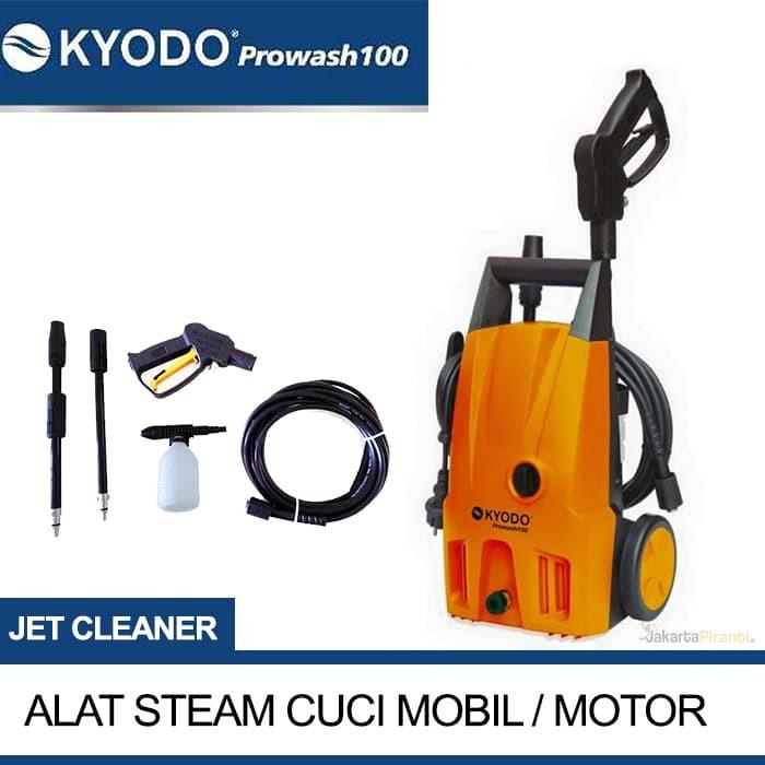 harga Alat mesin steam cuci mobil motor jet cleaner kyodo prowash 100 Tokopedia.com