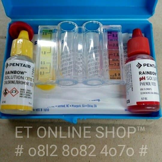 Foto Produk Test Kit Chlorine dan pH merk PENTAIR (RAINBOW) Akurat dari easytest
