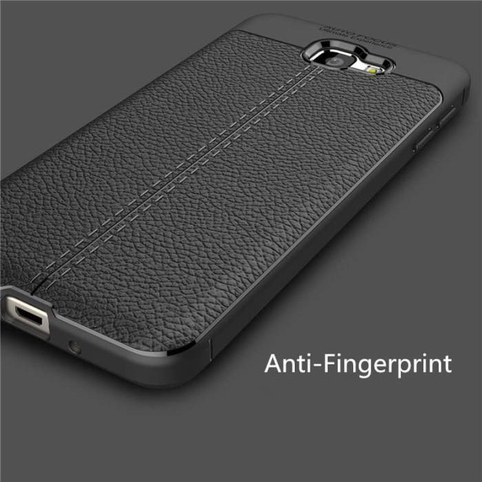 Case Auto Focus Samsung J7 Prime - Hitam + Free Tempered Glass -