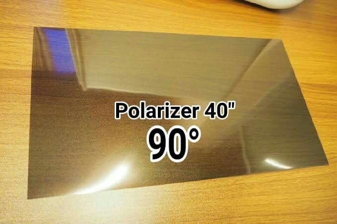 harga Polarizer 40 inch lcd polariser 40 inch 90 derajat Tokopedia.com