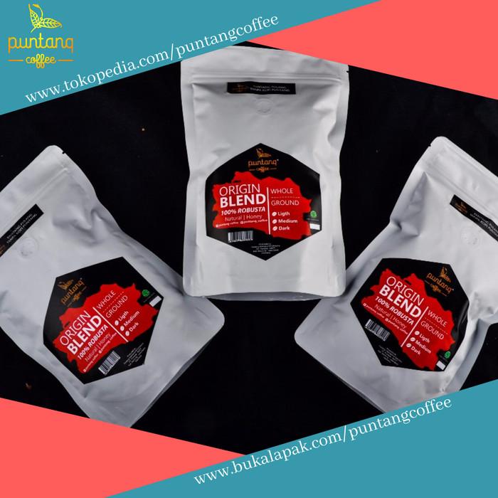 Bubuk kopi hitam robusta terbaik  250gr