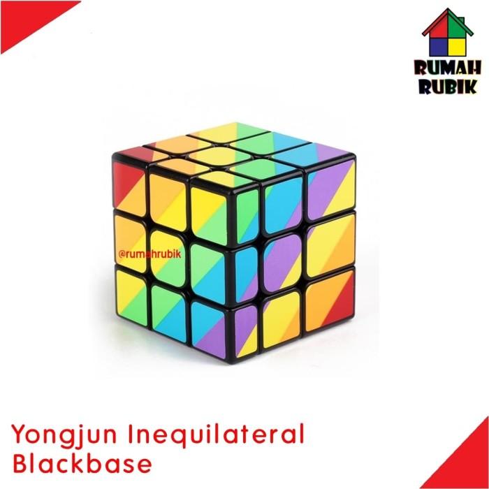 Rubik Inequilateral Yongjun Black - Blanja.com