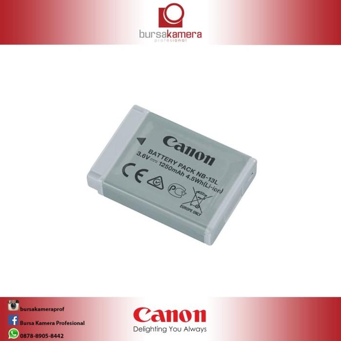 harga Canon nb-13l lithium-ion battery pack 3.6v 1250mah Tokopedia.com
